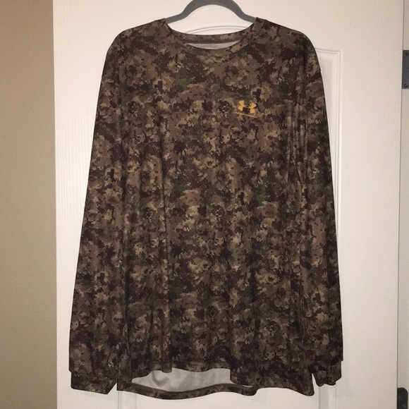 7b62d8ce Under Armour Shirts | Mens Drifit Digital Camo Shirt | Poshmark